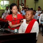 Testifier at Womens Hearing